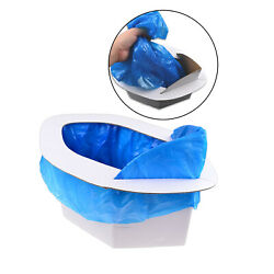 Portable Toilet Seat Leakproof Car Mobile Toilet Hunting Folding Commode