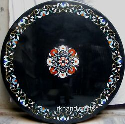 Hand Inlaid Dining Table Top With Carnelian Stone Work Marble Patio Table Top