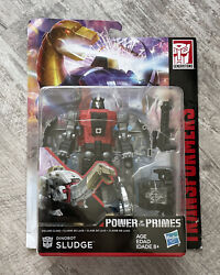 Transformers Generations Power Of The Primes Dinobot Sludge Deluxe New Sealed