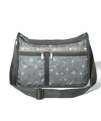 Lesportsac My Neighbor Totoro Collection Deluxe Everyday Bag Totoro Gray