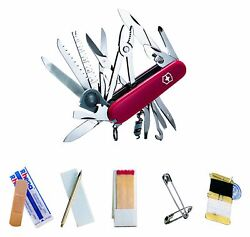 Victorinox 53511 Sos Set With 53501 Swisschamp Swiss Army Knife And Rescue Kit