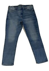 American Eagle Outfitters Super Hi Rise Jegging Next Level Stretch Size 18 Jeans