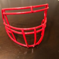 Scarlet / Red Riddell Speed S2bdc-sp 94921sp3 Football Facemask - Excellent