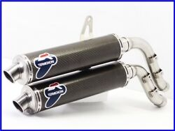 Ducati Monster S4rs Ms4r Termignoni Right 2 Out Carbon Slip-on Muffler Ppp