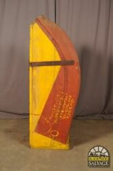 Salvaged Nautical Foundry Industrial Shipbuilding Pattern 63 Anchor Chain Slide