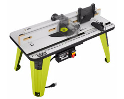 Ryobi Universal Router Table 32 X 16 In Saw Power Tool Stand Jobsite Woodworking