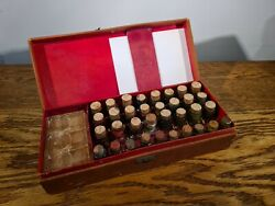 Highly Collectible Late Victorian Photo Tinting Set By Georg Keilitz C.1895
