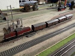 Piko-roco Hand Painted Weathered Cargo Train Set Scale Ho