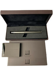 Dunhill Gemline Ad2000 Collection Fountain Pen - M 18k - 10 Ink Cartridges / New