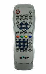 Proview Oem Original Tv Monitor Replacement Remote Control Tested Silver