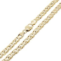 10k Yellow Gold Handmade Figure 8 Link Chain Necklace 26 7mm 61 Grams