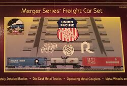 Mth Union Pacific Merger Series Freight Set 20-90033,0 Gauge/o Scale, Nib