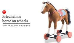 Pre-sale Steifffriedhelm's Horse-on-wheel Limited 934 Bodies Ship From Japan