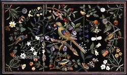 Royal Living Room Table Top With Nature Art Inlay Marble Dining Table Home Decor