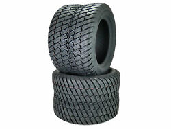 2 Otr 18x10.50-10 Grassmaster 4 Ply Tires For Lawn Garden Tractor Sub Compacts