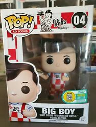 Funko Pop - Bobandrsquos Big Boy Sdcc16 Le 1/480 With Free Funko Stacks Protecter