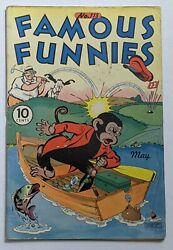 Famous Funnies 118 May 1944, Eastern Color Vg 4.0 Buck Rogers