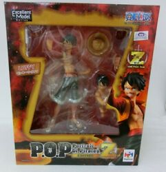 From Japan One Piece - Film Z Monkey D.luffy Pvc Figure P. O.p. Megahouse 03
