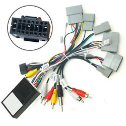 16 Pin Car Audio Wiring Harness Connector With Canbus Box For Honda Civic 16-19