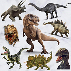 Dinosaur Wall Stickers Peel amp; Stick Removable Wall Art Sticker Decals for Kids