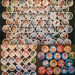 Lot Of 80+ 2013 Topps Chipz And 1984 Fun Foods Baseball Pins Bulk See Pictures