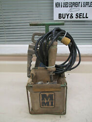 Mcelroy 216101 2lc / 2cu 2 Plastic Pipe Welding Fusion Facer Iron And Holder Used