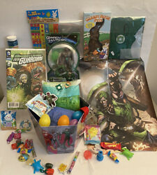 43pc Green Lantern Easter Basket Action Figure Eggs Canvas Poster Comic Book Toy