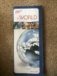 Aaa World Map Explore Travel Geography Europe America Asia Canada Signs