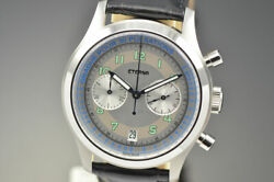 New Eterna Heritage Pulsometer Limited Edition 1942 Automatic White Dial Watch