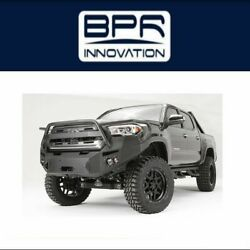 Fab Fours For 2016-2017 Toyota Tacoma Premium Winch Front Bumper - Tt16-b3650-1
