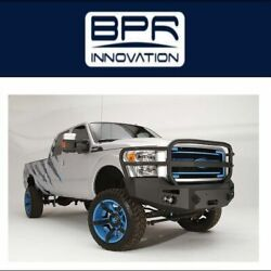 Fab Fours For 11-16 Ford F-250/350 Super Duty Premium Winch Full Guard Bumpers