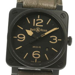 Bell&ross Diver Br03-92 Date Black Dial Automatic Menand039s Watch_606746