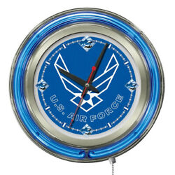 Holland Bar Stool Clk15airfor United States Air Force 15 Neon Wall Clock