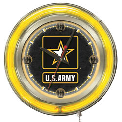 Holland Bar Stool Clk15army For United States Army 15 Neon Wall Clock Batteries