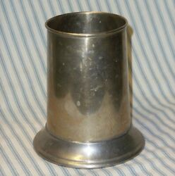 1920and039s Vintage Benedict Indestructo E.p.n.s. Silver Plate Tankard Stein Mug Cup