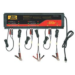 Autometer Buspro Agm Optimized 120v 5 Amp Smart Battery Charger Buspro-660
