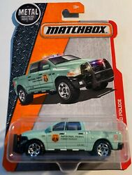 Matchbox Metal And03915 Ram 1500 Police National Parks