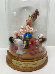 Rare Annalee Thorndikes A World Of Love Numbered 2002 13 Tall