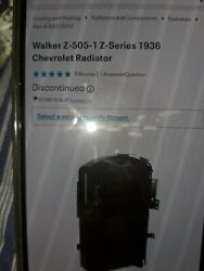 1935 Late And 36 Chevy Radiator Z Ac 505-1 Walker