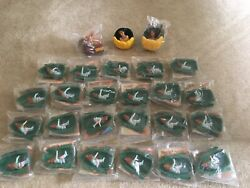Lot Of 24 Oliver And Company And 2 Pocahontas Burger King Kids Club Toys Disney