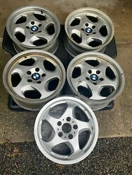 Bmw E34 M5 Throwing Star Style 21 Forged Wheels M System Ii 17x8