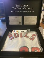 Michael Jordan Mitchell And Ness Rookie Jersey Moment Game Changed 549/1249 Sz L