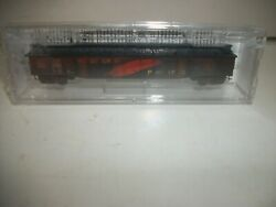 Micro Trains Western Pacific Fixed End Weathered Covered Gondola N Scale New