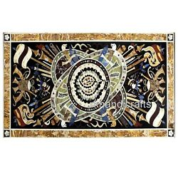 Cottage Crafts Hand Made Dining Table Top Elegant Pattern Marble Garden Table