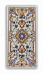 Marble Kitchen Table Top Stone Dining Table With Cottage Crafts From India