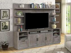 Parker House - Vector Tv Console With Hutch - Vec89-2
