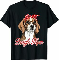 Beagle Mom Mothers Day Mommy Dogs Lovers Gifts Unisex T Shirt Size S 5XL