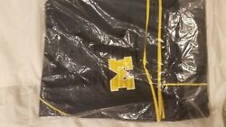 Michigan Basketball Authentic Game Shortshome And Away Set Sealed