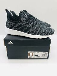 Adidas Womenand039s Cloudfoam Pure Lace Up Sneakers - Cloud Black- Pick Size