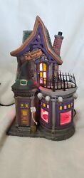 Dept 56 Halloween 'be Witching Costume Shop' 56.54604 Limited Edition Rare Asis